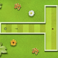 Flower Minigolf Game
