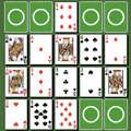 Holdem Squares Solitaire Game