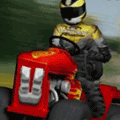 Play Lawnmower Racing 3D