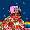 Play Nyan Cat Fly