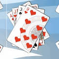 Play Snowfall Solitaire